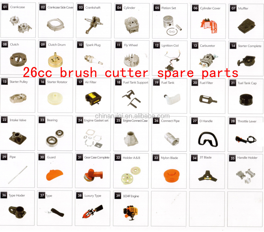 26cc brush cutter