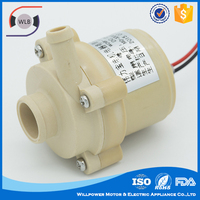 Long service life circulator pump/micro hot water pump powerful electric with brushuless motor
