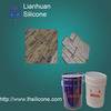 RTV silicone rubber molds for artificial stones,gypsum molds making