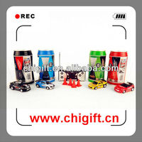 New 1:63 scale cheap coke can mini rc car Drop shipping accepted