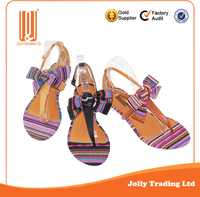 High quality new design elegant sexy young women textile shoe