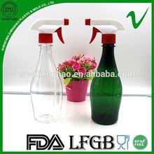 Por encargo de plástico pulverizador de gatillo botella botella para uso cosmético
