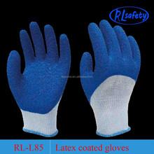 r latex coated work glove for 3/4 coated
