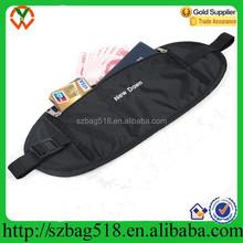 2015 slight money waist pack belt waterproof waist pouch for travelling