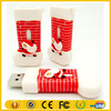 2015 Hot Selling Christmas Shoes USB 4GB PVC Christmas Shoes Shape USB Thumb Drive