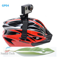 Gopro Accessory GP04 Black Helmet Mount Adapter Strap For Sport Action Cameras Gopro Hero 4/3+/3/2/1