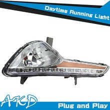 AKD Car Styling for Sportage R DRL SportageR LED DRL LED Daytime Running Light Good Quality LED Fog lamp
