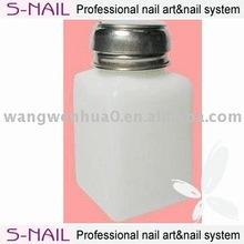 Fashion plastic pump bottle wholesale,Plastic Bottle,nail polish remover plastic bottle