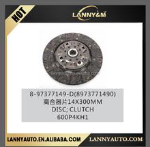 8973771490 8-97377149-D truck 600P clutch disc for 4HK1 engine disc clutch