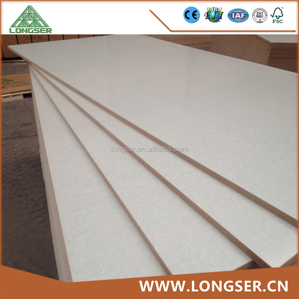 Waterproof mdf board melamine for furniture
