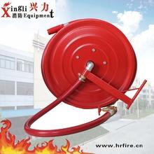 Carrete de la manguera de fuego