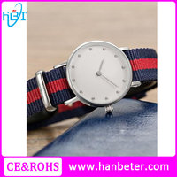 Simple design quartz stainless steel case customizable watch with japan miyota movement
