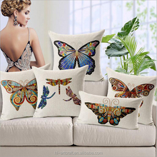 Hand-painted fashion butterfly deisgns adult car seat cushion