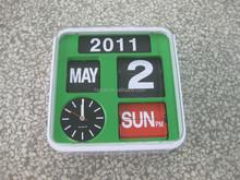 day month year clock calendar clock Modern automatic flip flap calendar clock