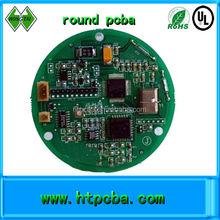 RGB LED round aluminum pcba