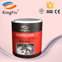 Unsaturated polyester resin for car patch body filler
