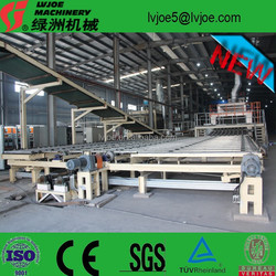 annual output 30,000,000sqm paper faced gypsum board production line
