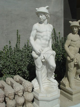 large outdoor decorative statues