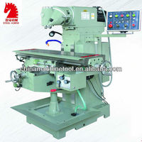 XQ6232 universal swivel head used mini milling machine