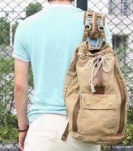mochila de ocio de lona mochila de buena calidad al por mayor