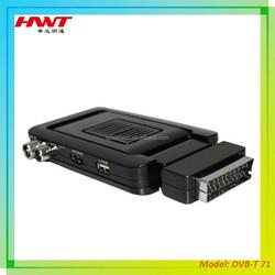 Best products H.264 mpeg4 set top box mini scart dvb-t2 hd receiver