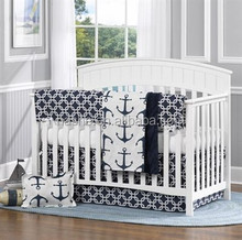 100% cotton European style baby crib bedding set/Baby cot bedding sets/baby bed linen set