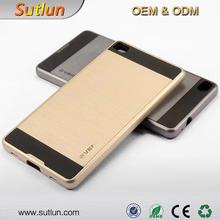 Fashion TPU + PC Shockproof Hard Back Case For Huawei Honor 4C 7 6 6 Plus P8 Lite Mate 7 Mobile Phone