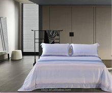 2000 thread count printed bed sheets in bleach cream