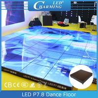 hot sale colorfull wholesale price led video dance floor