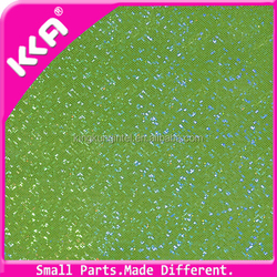 Green colorful synthetic PU leather for bag/sofa cover/decoration