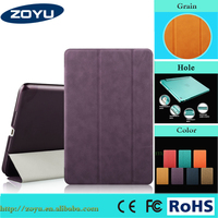 for iPad Air case smart stand leather case cover for ipad 5 smart stand leather