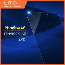 Factory price anti blue ray tempered glass screen film for iphone 4