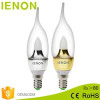 Hot sales energy saving 220v E14 E12 B15 3W 5W 7w LED Candle led bulbs