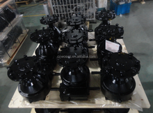 Center pivot gearbox pivot irrigation system