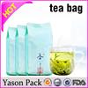 Yason bag for tea aluminum foil tea bag wholesale tea bags
