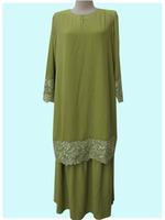 Kaftan Fashion Islamic Clothing Baju Kebaya Muslim For Ladies Abaya Dress