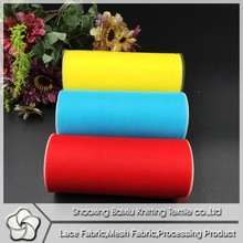 2015 top sale summer china fabric market wholesale tulle fabric rolls for wedding decoration