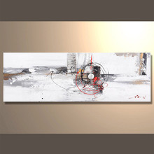 Gold art of Handmade Western abstract oil painting