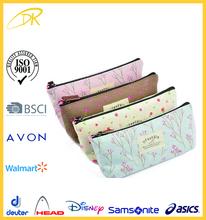 new fashion 2015 school pencil pouch, promotion canvas pencil bag