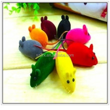 factory price wholesale mouse toys, custom plastic rubber mouse toys for sales, colorful mouse toys for pets