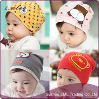 Wholesale Baby Knitted Warm Cotton Beanies
