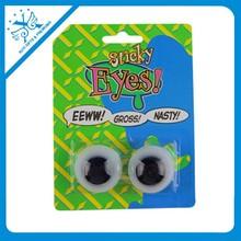 new halloween sticky eyes soft sticky toys cheap plastic TPR sticky eyes ball
