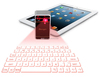 Mini Ultra-thin Novelty portable virtual laser projection bluetooth keypad for phone