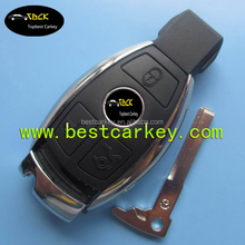 Topbest auto smart key for mercedes w210 key 3 button smart car key 433 mhz