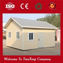 Full Completed with Electric and Plumbers modular prefab house with low cost and fast installation
