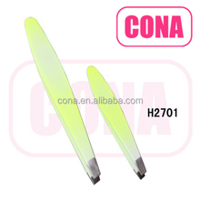 Professional high quality stainless steel eyebrow tweezers H2701