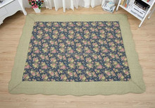 100% cotton hot selling fashion design tent floor mat