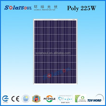 high efficiency 225w amorphous polycrystalline Solar panels battery factory direct wholesale china with tuv ul ce