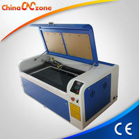Fires Prevented 80w CO2 Laser Cutting Machine for Balsa Wood