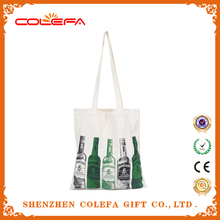 2015 canvas collect beer shopping bags promotional